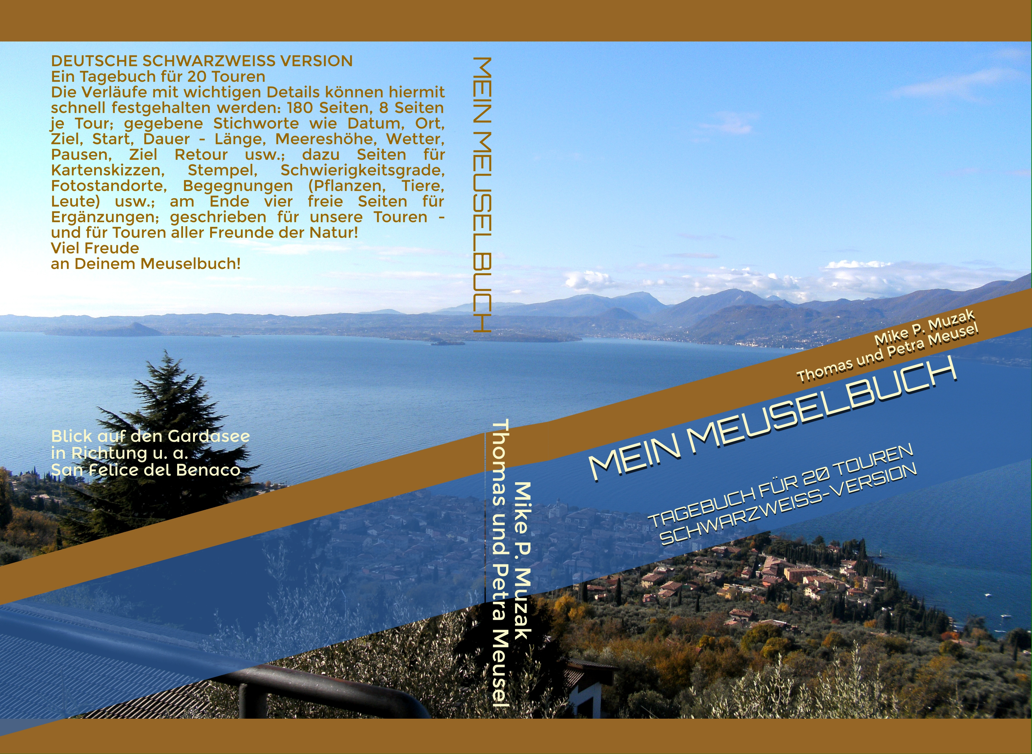 Deutsch s/w-Version - COVER Gardasee Italien